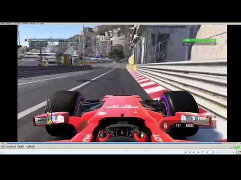F1 2017 Monaco time trial WORLD RECORD