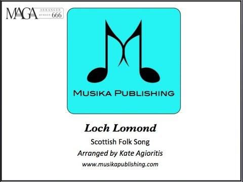 Loch Lomond - Saxophone Ensemble