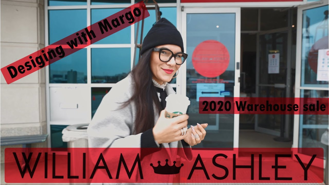 Shopping spree at William and Ashley 2020 Warehouse Sale