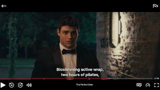 The Perfect Date Movie CLIP - Bioslimming Active Wrap  (2019) -  Movie Netflix