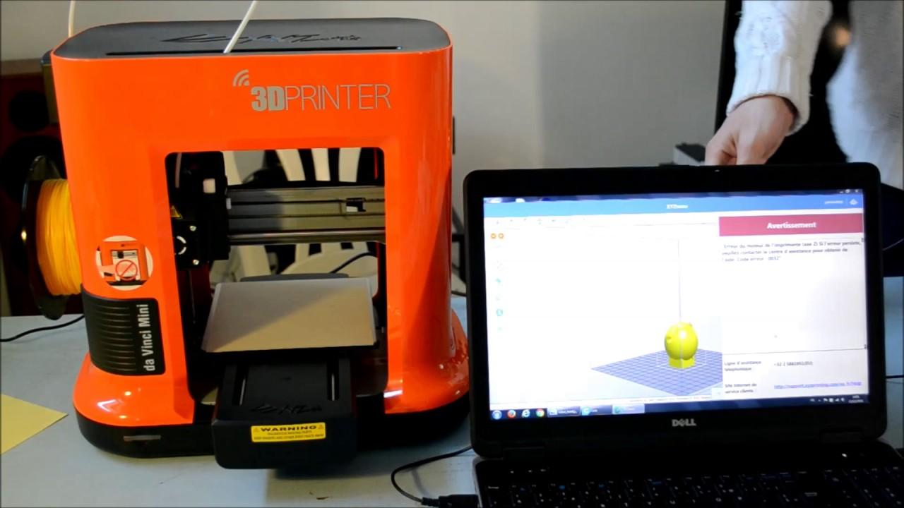 XYZprinting da Vinci Mini Wireless 3D Printer Review | Craft Schmaft