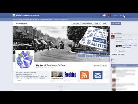 Facebook - How To Post on Page as Page Name