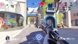 My five man res as Mercy!