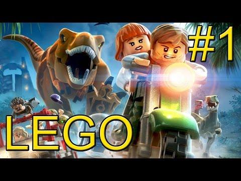 LEGO Jurassic World {PC} прохождение часть 1 — Мир Юрского Периода