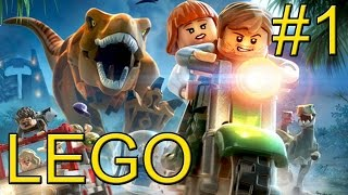 LEGO Jurassic World {PC} прохождение часть 1 — Мир Юрского Периода