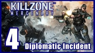 Killzone: Mercenary Walkthrough PART 4 Lets Play Gameplay [PS Vita] TRUE-HD QUALITY