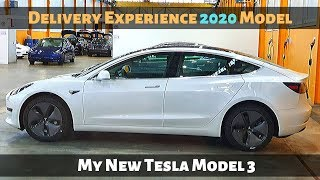 My New TESLA Model 3 2020 Delivery Day