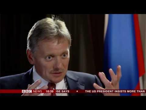 Hard Talk with the Russian Press Secretary