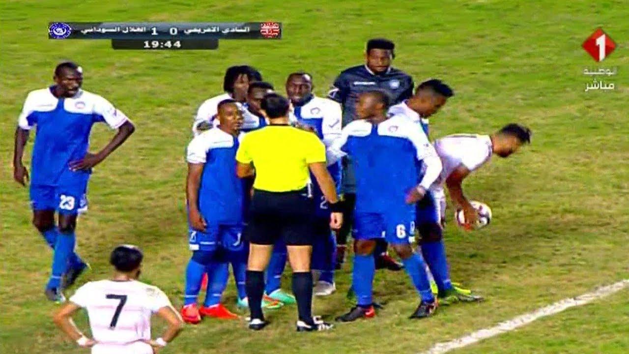 أهداف مباراة الافريقي التونسي 3-1 الهلال السوداني | دوري أبطال أفريقيا 2018/19 ذهاب الدور التمهيدي
