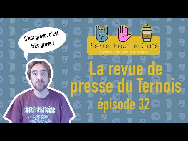 Pierre, feuille, café #32 - la revue de presse de la semaine