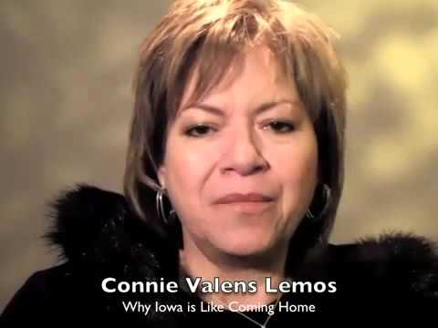 Connie Valens Lemos on why Iowa is like coming home