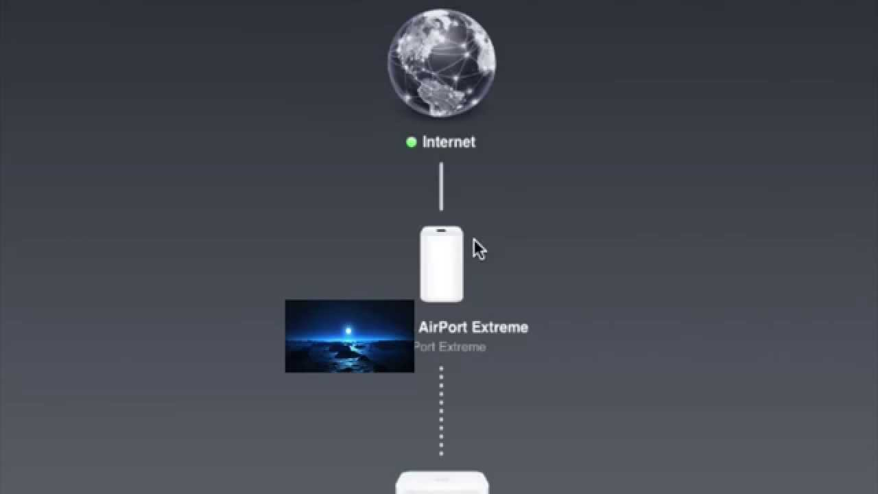 setup apple airport extreme