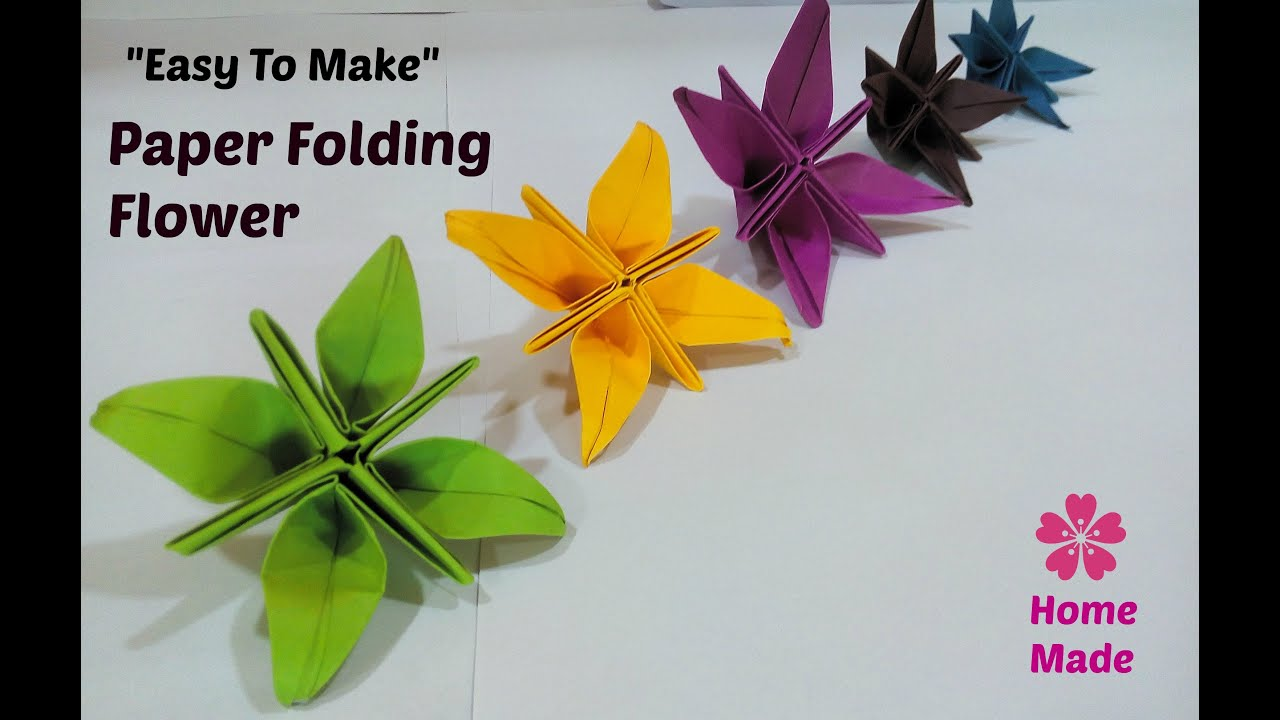 how to make paper flowers crafting methods origami art