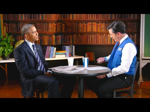 President Barack Obama Makes Surprise Appearance on The Late Show with Stephen Colbert