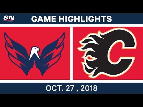 NHL Highlights | Capitals vs. Flames - Oct. 27, 2018