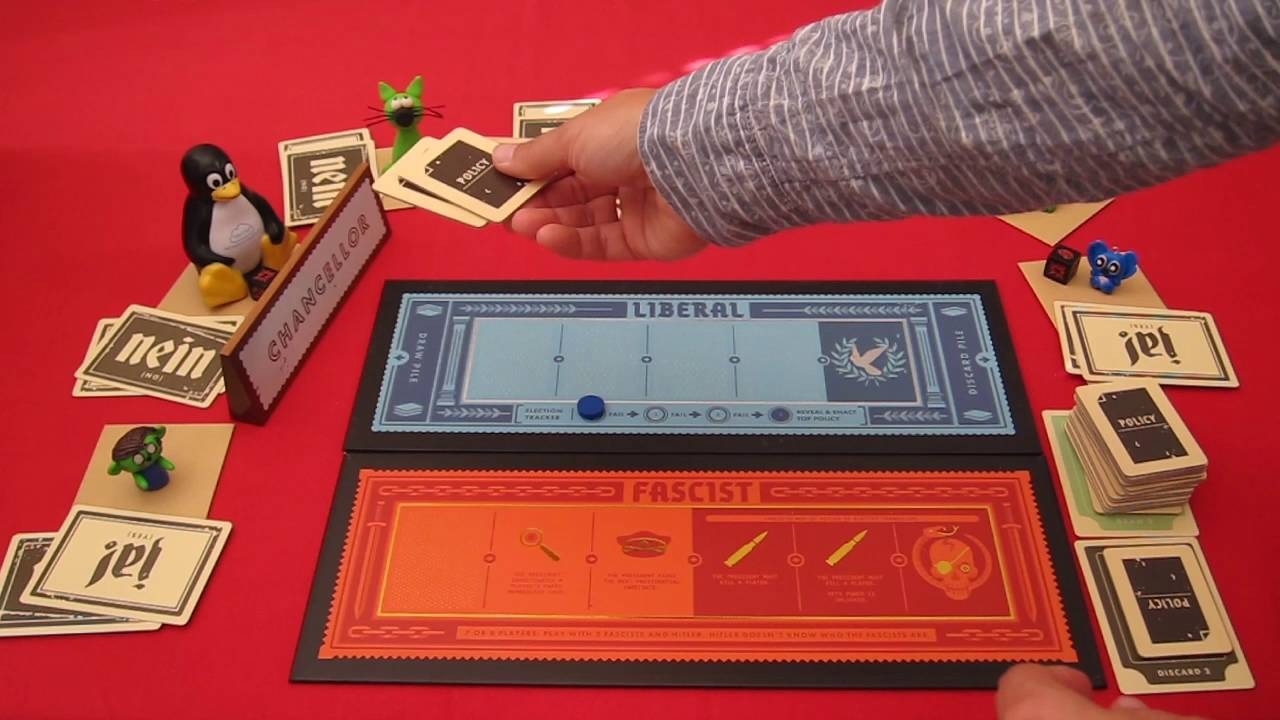 Secret Hitler How To Play English Board Game Youtube