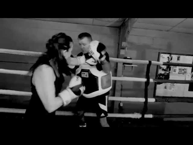 Boxing Padwork Demo from FightYourselfFit.com