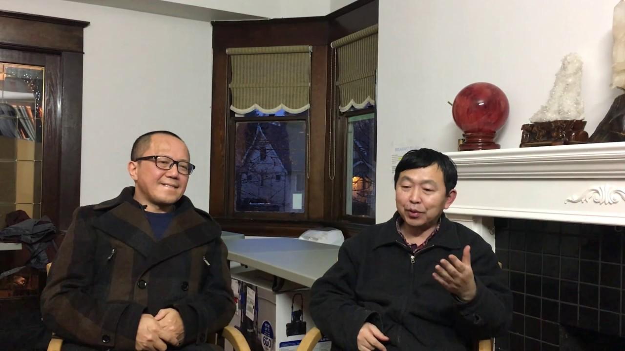 黃河邊專訪李建峰:從張林赴美談民運老將真正的失望 - YouTube