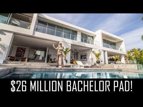 $26MILLION BACHELOR PAD!