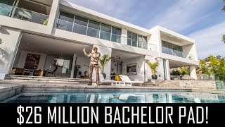 $26MILLION BACHELOR PAD!