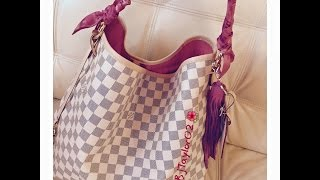 Newly released Louis Vuitton Delightful Damier Azur