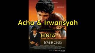 Acha Irwansyah Cinta LIRIK OFFICIAL LYRIC VIDEO LIRIKMUSIK10