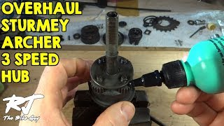 How To Overhaul/Clean/Lube Sturmey-Archer 3 Speed Hub - AW type