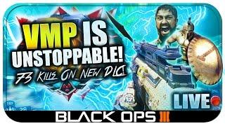 "73 Kills! VMP Dominates on NEW ""DESCENT"" DLC in Black Ops 3! (BO3 ""Empire"" LIVE Gameplay)"