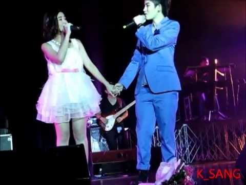 Aom And Tina Singing Forever Love