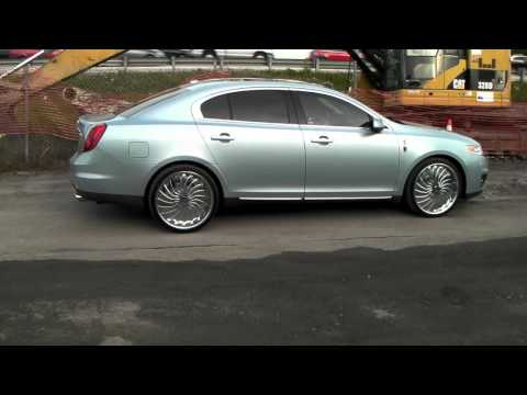 DUBSandTIRES.com 22 Inch Forgiato Magro Chrome Wheels Lincoln LS Review  Miami Ft. Lauderdale