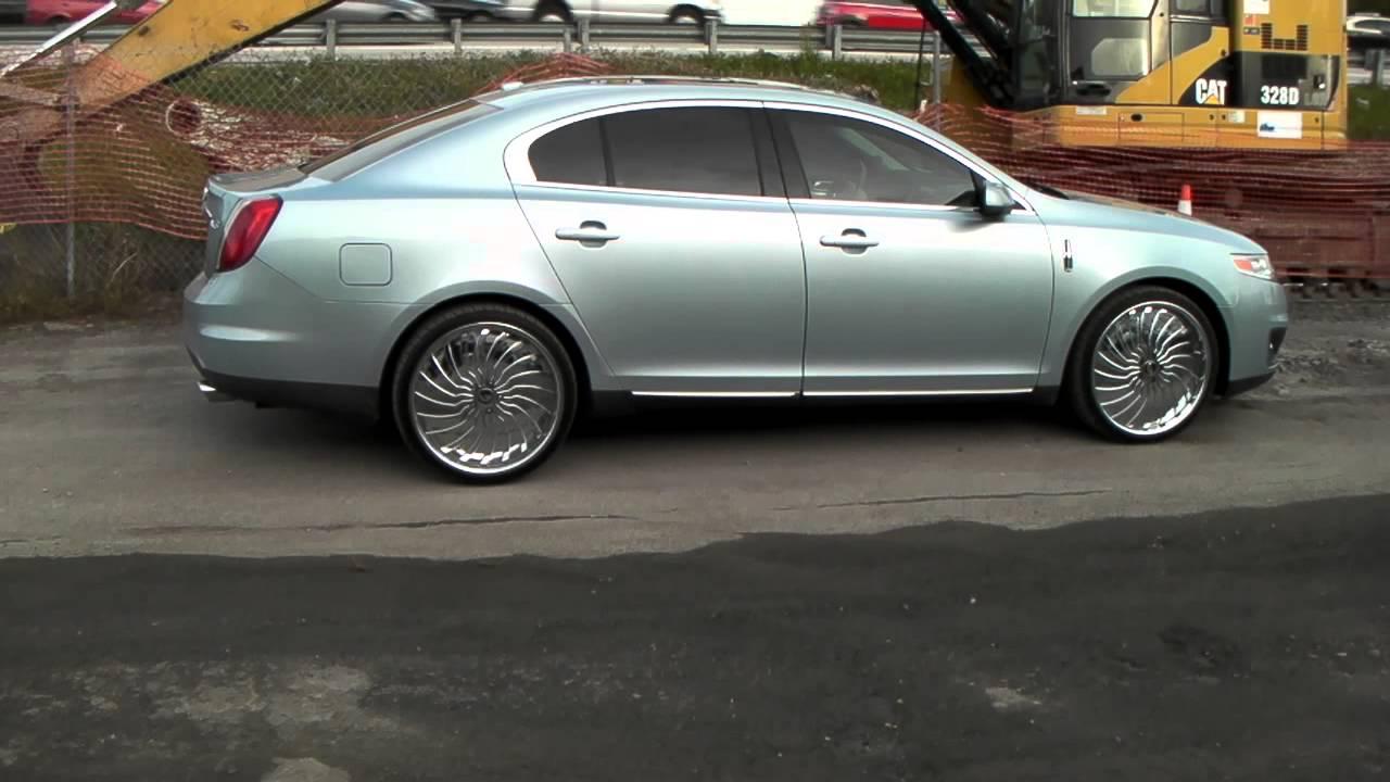 DUBSandTIREScom 22 Inch Forgiato Magro Chrome Wheels Lincoln LS