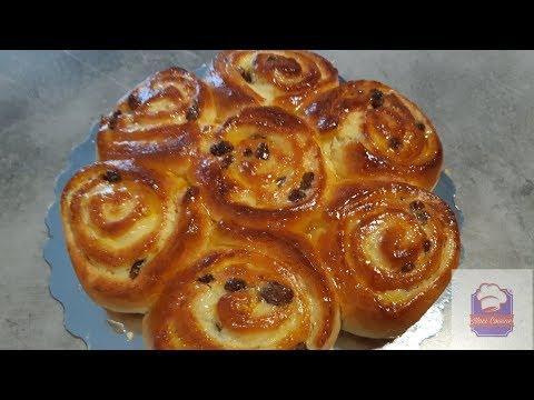 💗recette-du-chinois-(brioche-fourré-à-la-crème-pâtissière)💗/بريوش-محشي-بي-الكريمة💗