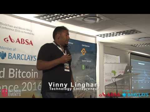 Blockchain & Bitcoin Africa Conference 2016 - Vinny Lingham