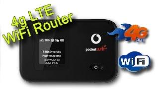 Посылки из Китая - 4g WiFi router Huawei Vodafone R215 Обзор+Тест