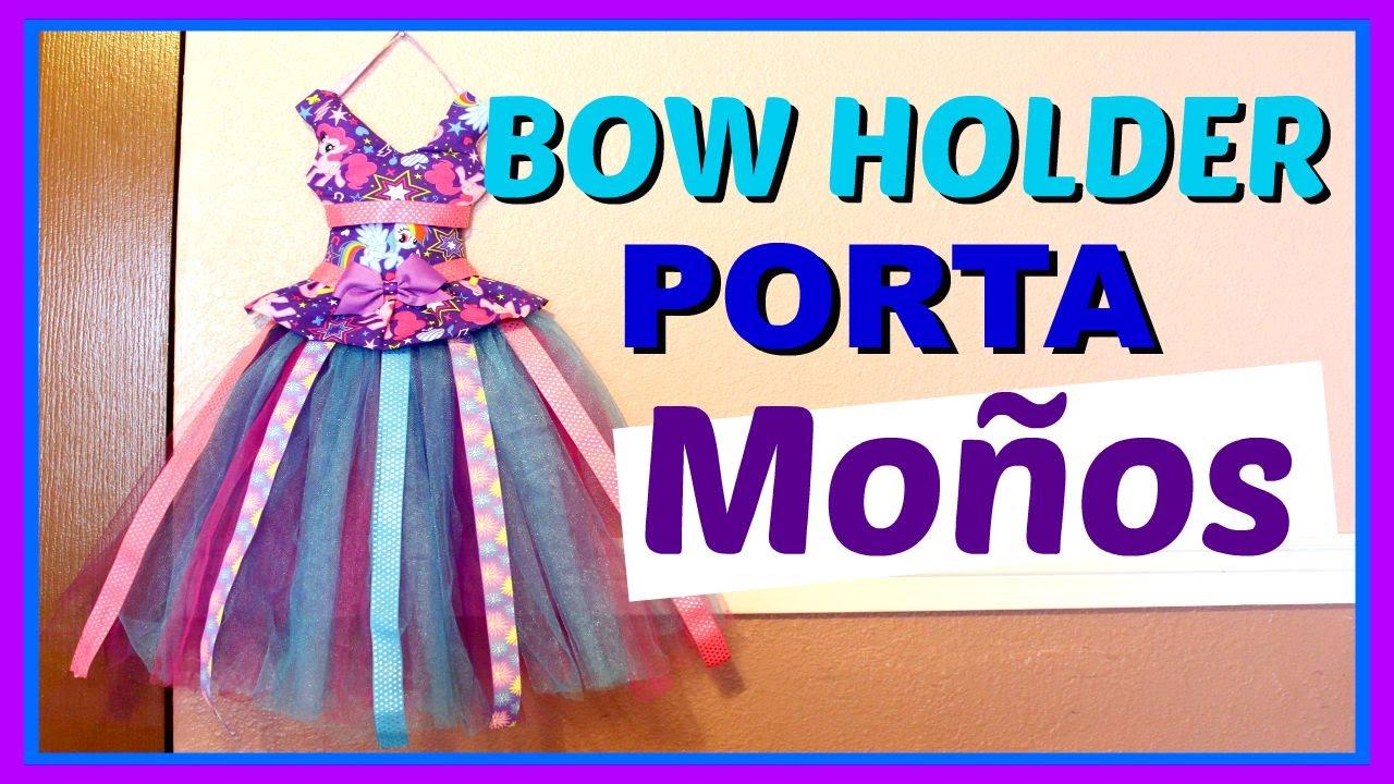 Como Hacer Un Porta Moños Organizador De Moños Bow Holder