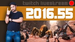 Let's Play Livestream 2016 #55 - News, Technomancer