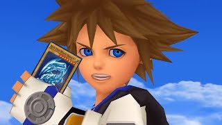 Kingdom Hearts- Chain of Memories in a nutshell