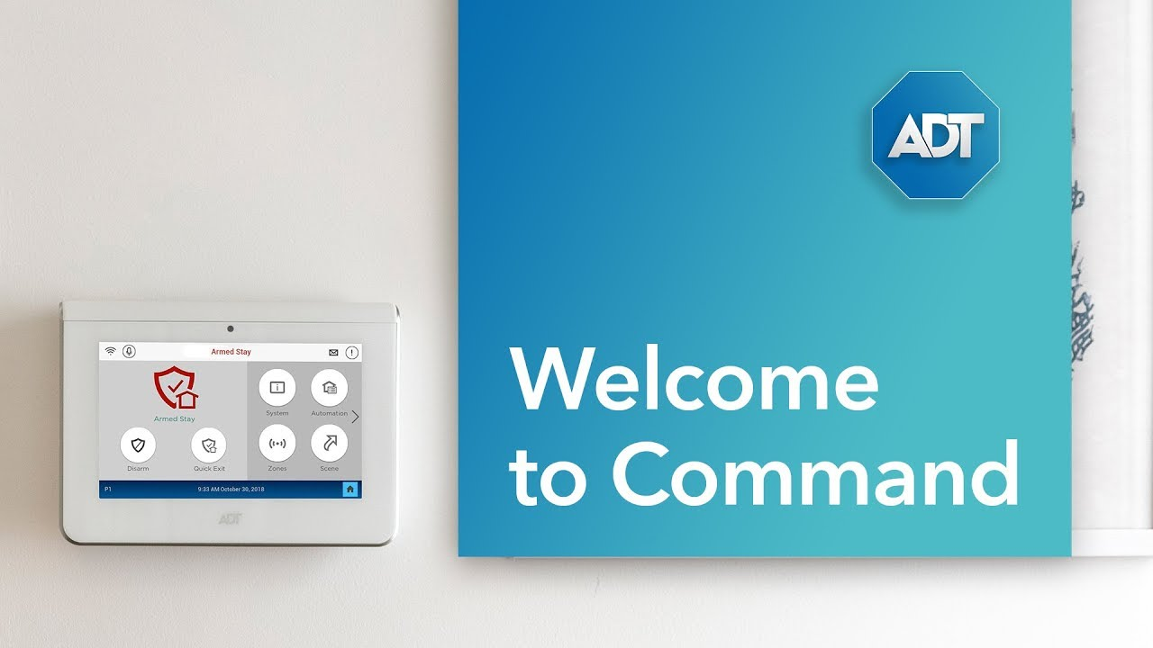 Adt Home Security Systems >> Smart Home Security With Adt Command