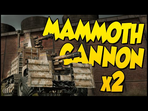 Crossout ➤ Dual MAMMOTH Cannons! - Death After Death After Death! [Crossout Gameplay Mammoth Cannon]