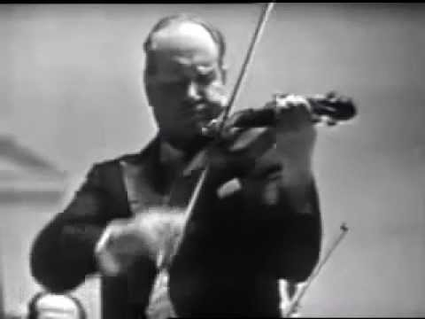 David Oistrakh - Sibelius - Violin Concerto in D minor, Op 47