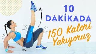 10 Dakikada 150 Kalori Yakıyoruz