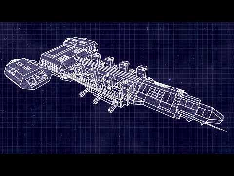 Space Engineers| Blueprint to construction (Large Mining Carrier ...