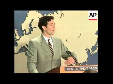 USA: STATE DEPARTMENT NORTH KOREA NUCLEAR PRESS CONFERENCE