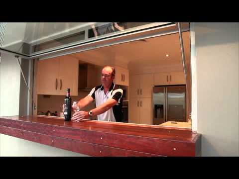 Kitchen Servery Window Youtube