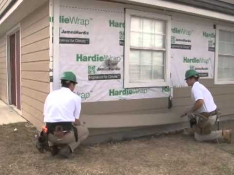 Hardieplank Lap Siding Install Video Youtube