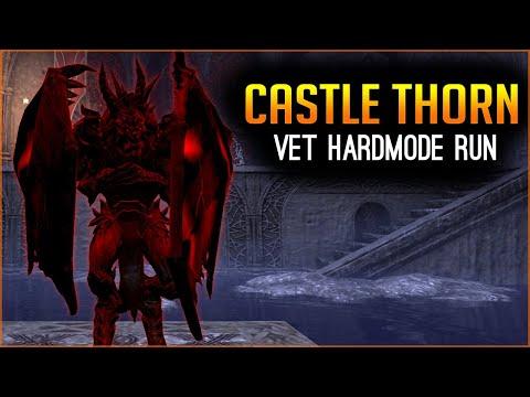 Castle Thorn Veteran Hardmode Full Run - Elder Scrolls Online ESO