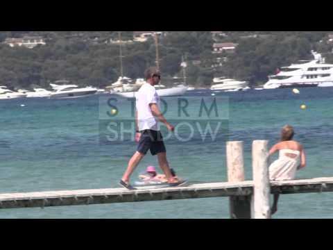 Roman Abramovich leaving the Club 55 in Saint Tropez