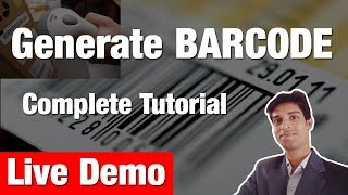 How to generate barcode in easy step for your projects ? Live Demo for php barcode generator script.