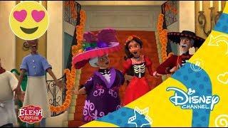 Elena de Avalor Videoclip - El dia de los muertos Disney Channel Oficial