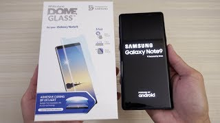 Your Galaxy Note 9 Needs This! Whitestone Dome Tempered Glass Screen Protector!